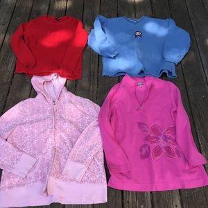 Hoodie-Sweater-Sweatshirt Bundle of 4